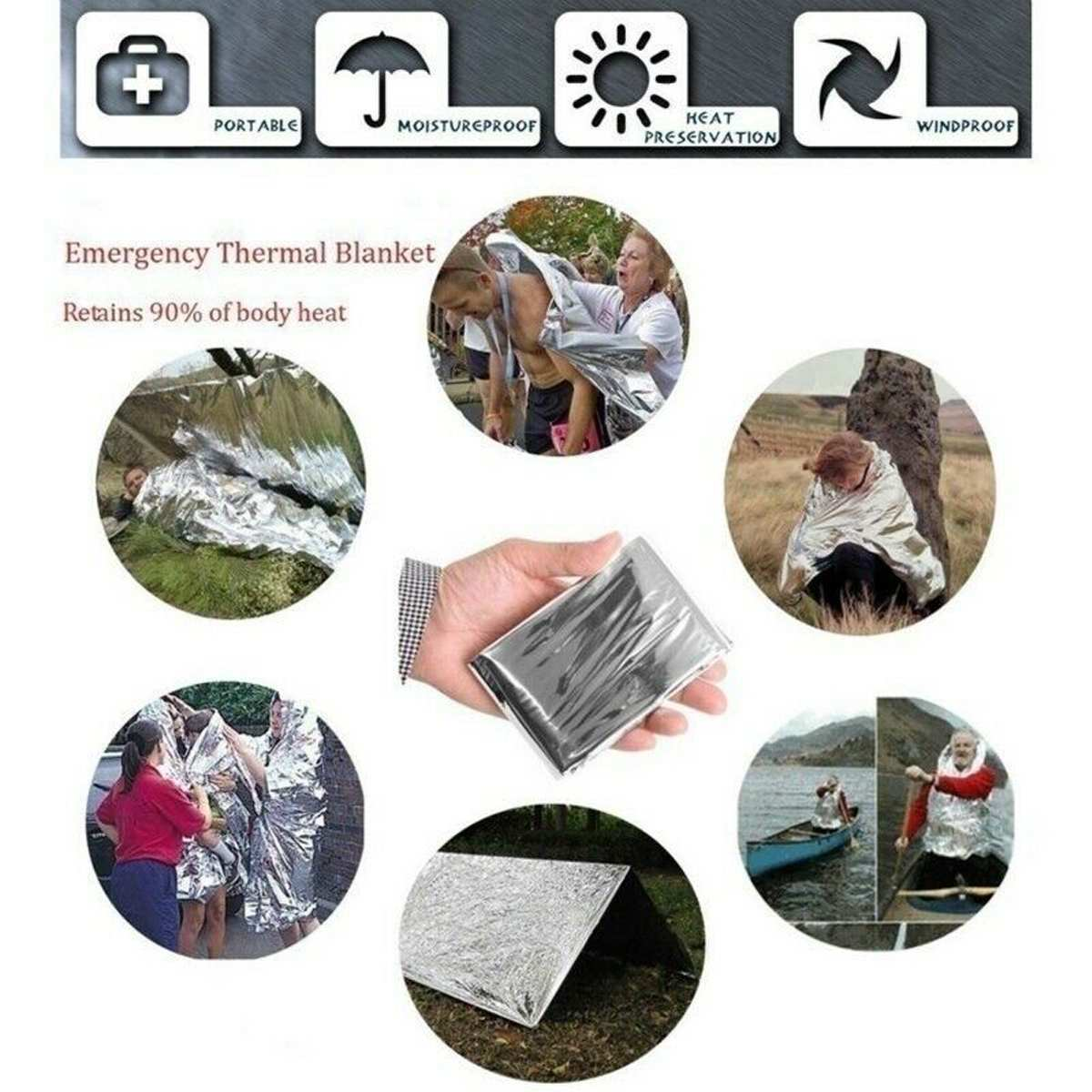 12 in 1 Emergency Survival Kit Outdoor Hiking Camping Tactical Gear Multi Tools Military Tactical Defense-Equitment Tools