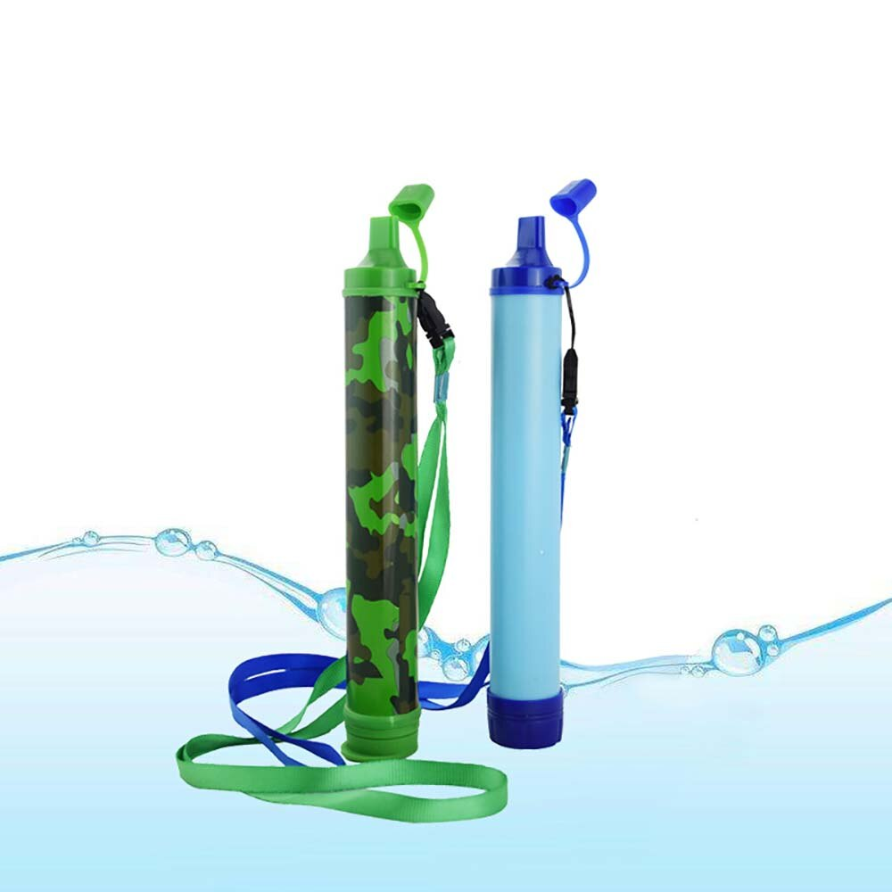 Outdoor Random Color Tourism Water Purifier Camping Hiking Emergency Life Survival Portable Purifier Water Filter