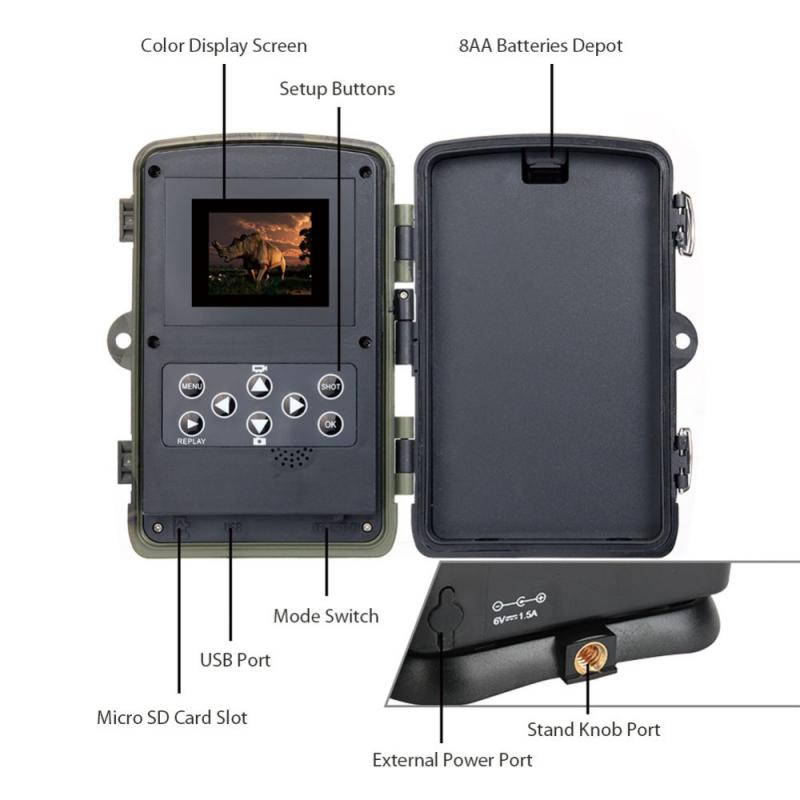 Hunting Trail Camera HC801M infrared Wild Camera 2G SMS MMS Photo Traps Wild hunter game ghost deer feed hunt Chasse scout