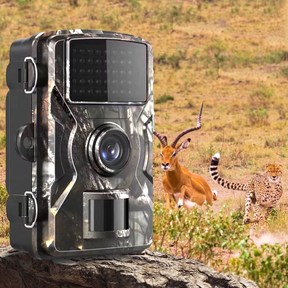 Trail Camera 12MP 1080P Game Hunting Cameras with Night Vision Waterproof 2 Inch LCD LEDs Night Vision Deer Cam Design in stock