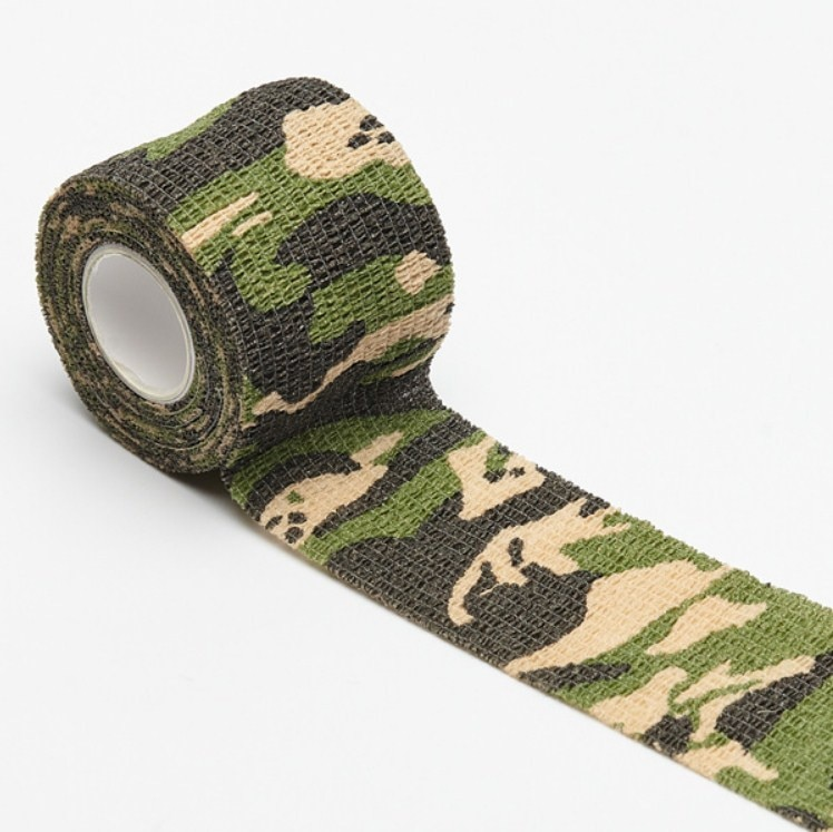 11colors Army Camo Outdoor Hunting Shooting Blind Wrap Camouflage Stealth Tape Waterproof Wrap Durable 5cmx4.5m